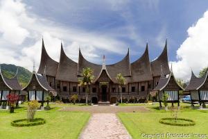Rumah Gadang, Padang Panjang, West Sumatra, Indonesia