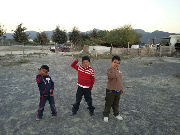 Children from the community