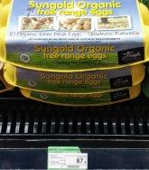 New Zealand Organic Eggs