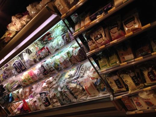 rice shelves