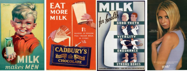 milk adverts