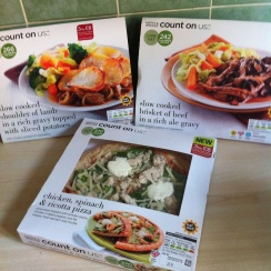 Ready meals by Marks and Spencer