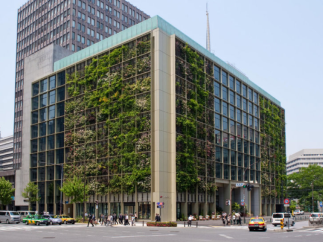 vertical farm in urban area